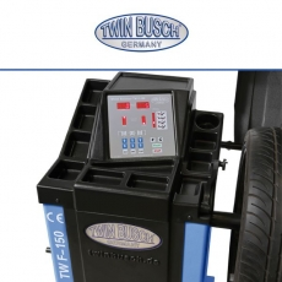 Equilibradora de ruedas semiautomática - TW F-150