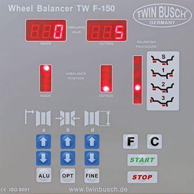 Equilibradora de ruedas TW F-150