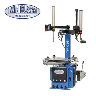 Desmontadora de ruedas - semi-autom. Diseño oscilante del brazo