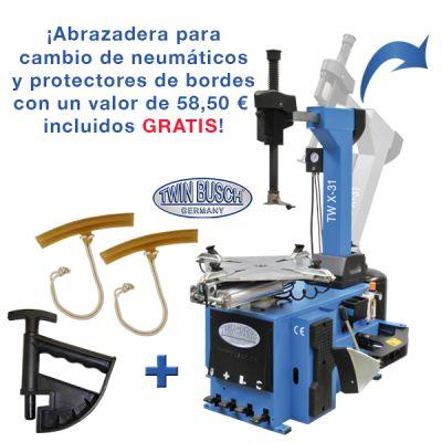 Desmontadora de ruedas - Automática - brazo de montaje basculant
