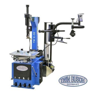 Desmontadora de ruedas semiautomática - brazo basculante