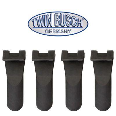 Set de 4 protectores de plástico para pinzas de sujeción (largo)