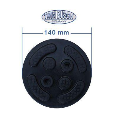 Caucho de goma para el TW 250 - TW G-D14cm