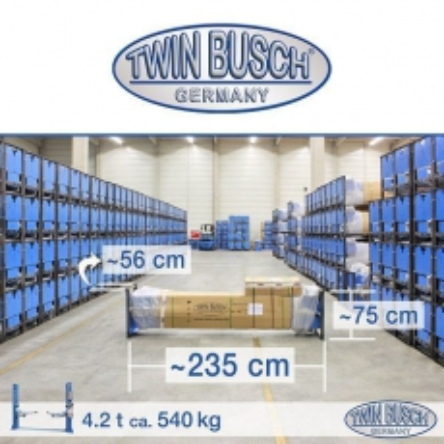 Elevador de 2 columnas - Basic Line - 4.2 to - Modelo para Garages