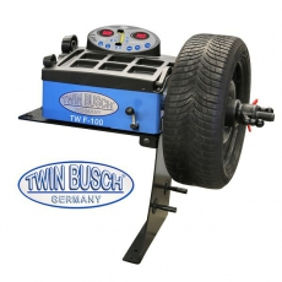 Equilibradora de ruedas accionada a mano semi-automática. TWF-100
