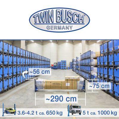 Elevador de 2 columnas - Heavy-Line - 5.0 to