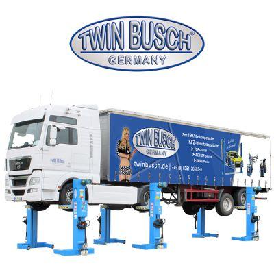 Elevador de camión 6 columnas - 33t - TW 550-6