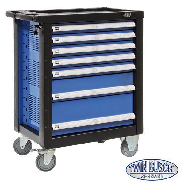 MSW Carro De Herramientas Para Taller Mec/ánico MSW-WWG-12 5 cajones, Capacidad de carga hasta 50 kg, Con cerradura y dos llaves