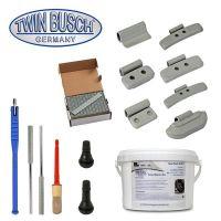 Paquete de inicio para el montaje de neumáticos y equilibradoras