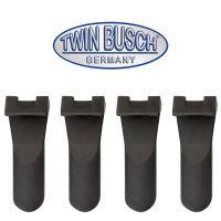 Set de 4 protectores de plástico de mandíbula (largo)