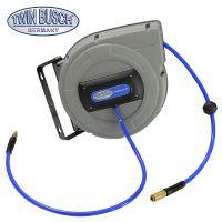 Portarrollos profesional para manguera de aire a presión de 15 m - TW DLR